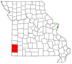 Map Of Joplin Missouri