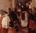 José Benlliure Ortiz 1884 1916 Salida de misa en Rocafort Óleo sobre lienzo 221 5 x 204 8 Museo de Bellas Artes de Valencia.jpg