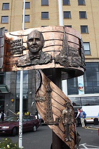 Josef Locke - Josef Locke memorial in Derry