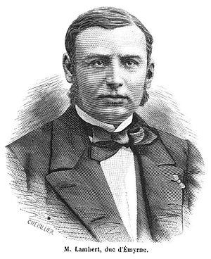 Joseph-François Lambert - Engraving of Joseph-François Lambert