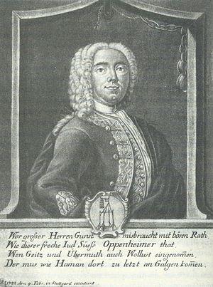 Joseph Süß Oppenheimer - Image: Joseph Süß Oppenheimer