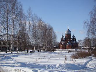 Furmanov, Ivanovo Oblast - Joy of All Who Sorrow Icon Church, in Furmanov