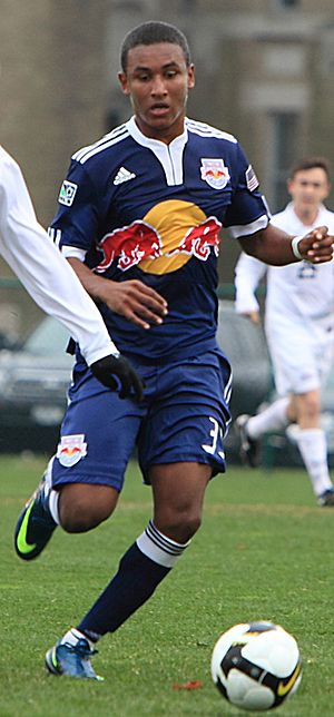 Juan Agudelo of New York Red Bulls in March 2010.