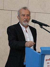 Juan Bordes, director de la Calcografía Nacional, en la presentación de la primera Jornada de Puertas Abiertas de los Gabinetes de Dibujos y Estampas de Madrid.jpg
