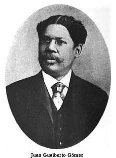 Juan Gualberto Gómez Afro-Cuban revolutionary leader in the Cuban War of Independence