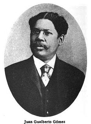 Juan Gualberto Gómez - Juan Gualberto Gómez as a Senator in 1919