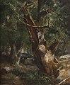 Jules Coignet - Le Chêne au dolmen dans la forêt de Brocéliande (1836).jpg