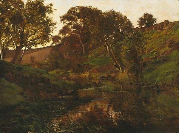Julian Ashton Merri Creek 1882