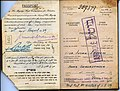 Julian and Anna Epstein Palestine Passport 1939 p 1.jpg