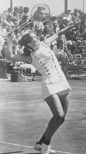 Julie Heldman - Heldman in 1972