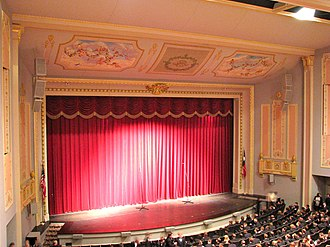 Julie Rogers Theater - Image: Julie Rogers Theater auditorium