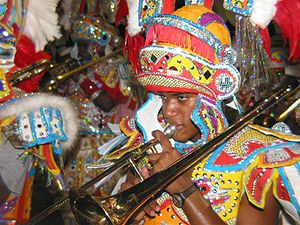 Music of the Bahamas - Junkanoo celebration in Nassau in 2003
