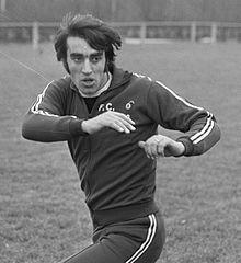 Anastasi in allenamento nel febbraio del 1971