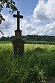 Kříž mezi jeskyní Blanických rytířů a Kunštátem, okres Blansko.jpg
