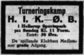 KBUs A-Række football match advertisement Villabyernes Blad 31.05.1928.png