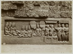 KITLV 28026 - Kassian Céphas - Relief of the hidden base of Borobudur - 1890-1891.tif