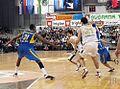 KK Union Olimpija vs Maccabi Tel Aviv 2009-12-03 (13).jpg