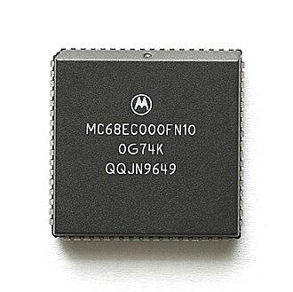 Motorola 68000 - Motorola 68EC000 controller