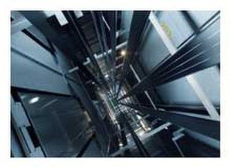 Kone - KONE UltraRope in elevator shaft