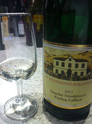 Riesling - A Kabinett level German Riesling from the Mosel.