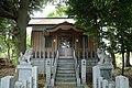 Kagoyama Jinja Shrine Haiden, Kagoyama Midori Ward Nagoya 2020.jpg