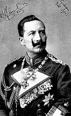 Kaiser Wilhelm II, 1905