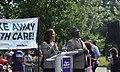 Kamala Harris speaking at a Medicaid protest.jpg