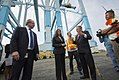 Kamala Harris tours the Port of Los Angeles on May 31 38016236116 4a4913739d h.jpg