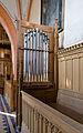 Kambs Kirche abgebaute Reste des alten Orgelprospekts2.jpg