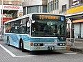 Kanto Railway Bus 9484 at Toride Station.jpg