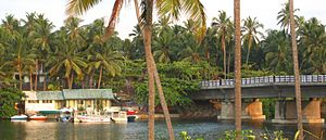 Kappil, Thiruvananthapuram - Image: Kappil boatclub