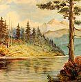 Karel Farský (1880 - 1927) - Hory nad jezerem.jpg