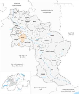 Map of Oberburg