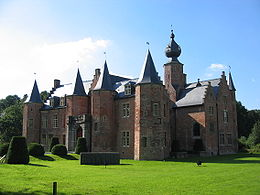 The Rumbeke castle, near Roeselare