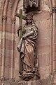 Kaysersberg, Statue de la Sainte Croix-PM 49841.jpg