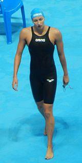 Veronika Andrusenko Russian swimmer