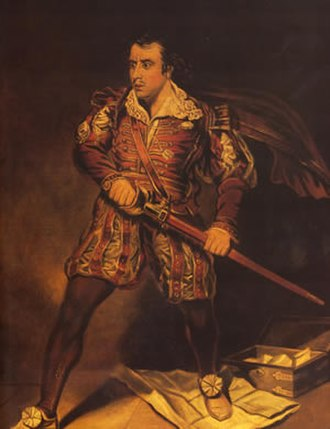 Edmund Kean - Kean as Sir Giles Overreach in Massinger's A New Way to Pay Old Debts