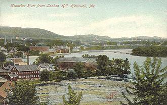 Hallowell, Maine - Hallowell circa 1905