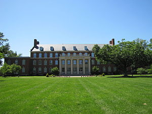 Kentucky Wesleyan College - The Barnard-Jones Administration Building at Kentucky Wesleyan College