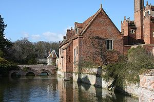 Kentwell Hall - The Moat House at Kentwell Hall