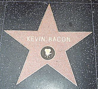 Kevin Bacon - Kevin Bacon's star on the Hollywood Walk of Fame for Motion Picture – 6356 Hollywood, Blvd.
