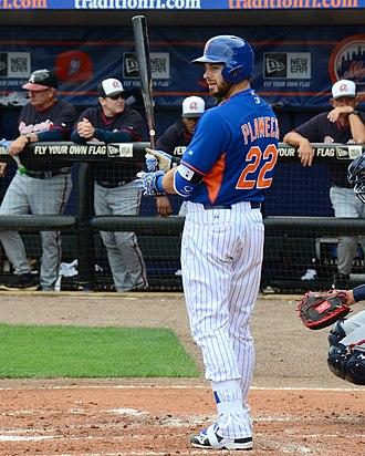 Kevin Plawecki - Plawecki with the Mets in Spring of 2015