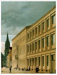 Gewerbeinstitut Berlin, 1829 (Quelle: Wikimedia)