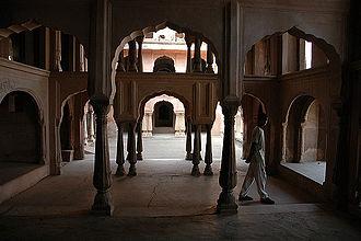 Khetri Mahal - Wind Palace Architecture of Mahal
