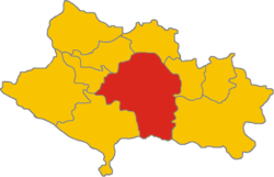 The territory of the Khorramabad inside the province of Lorestan