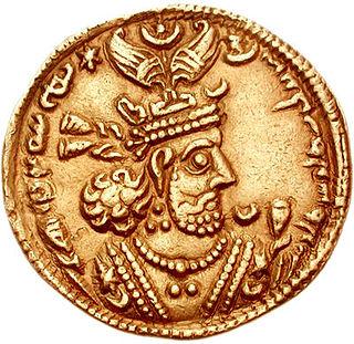 Sassanian king