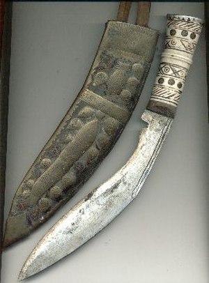 2008 Noida double murder case - Image: Khukri knife