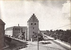 Kildevæld Church - The church viewed from the east in 1949