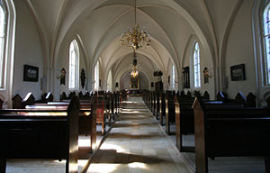 Kildevæld Church - Interior