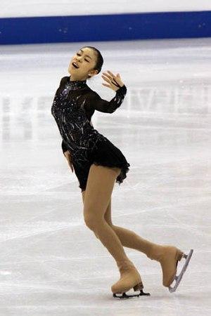 Yuna Kim - Kim performing her short program to Danse Macabre at the 2009 World Championships.